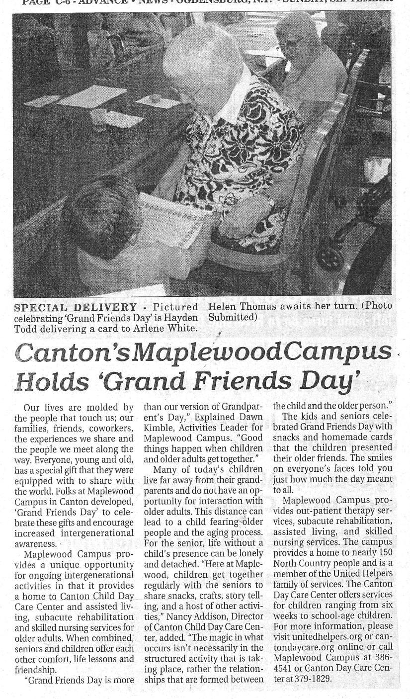 Grand Friends Day